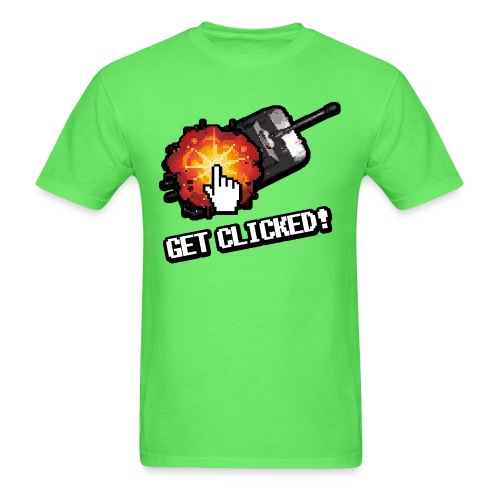 Get Clicked - Men's T-Shirt