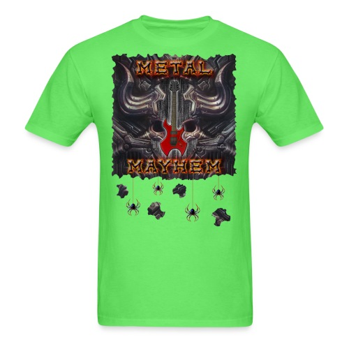 Metal Mayhem Tee Copyright 2018 by Michael Groebel - Men's T-Shirt