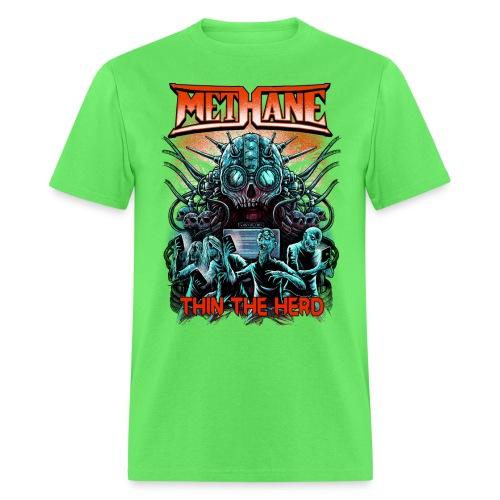 Methane Thin The Herd - Men's T-Shirt