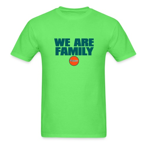 we are family dolphins 2 - Men's T-Shirt