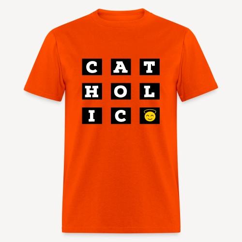 CATHOLIC SMILEY - Men's T-Shirt