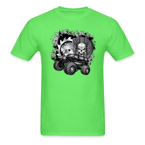 Metallic Monster Truck - Men's T-Shirt