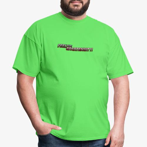 FeelTheSpartensity - Men's T-Shirt