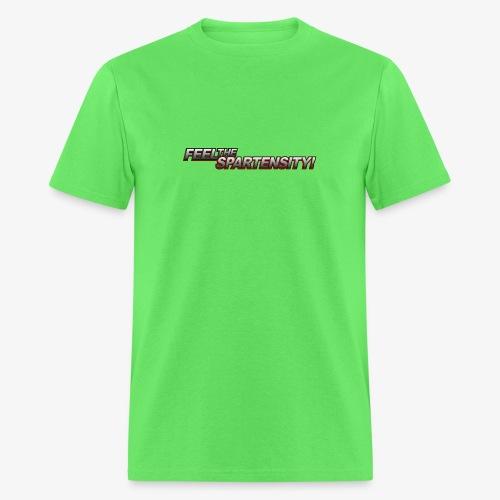 FeelTheSpartensity - Men's T-Shirt