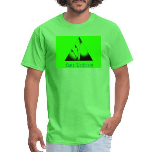 Lime Green Logo - Men's T-Shirt