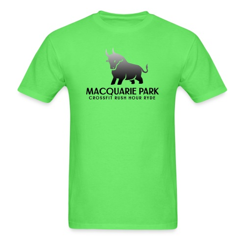 Black Bull -CrossFit Rush Hour Ryde - Men's T-Shirt