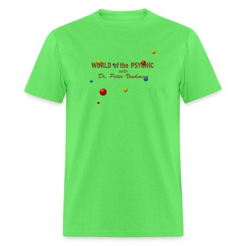 world of the psychic ai - Men's T-Shirt