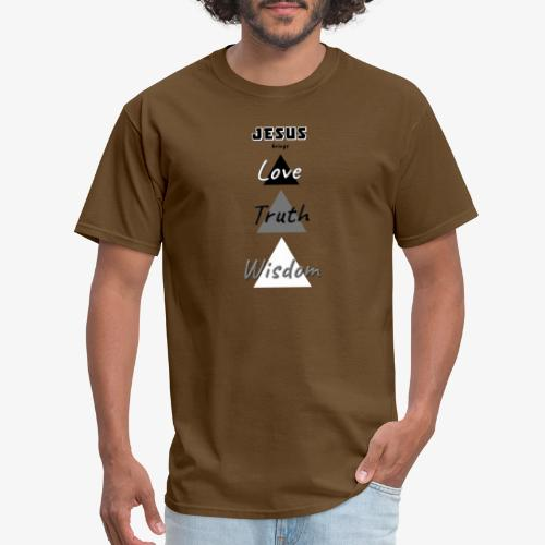 Love Truth Wisdom - Men's T-Shirt