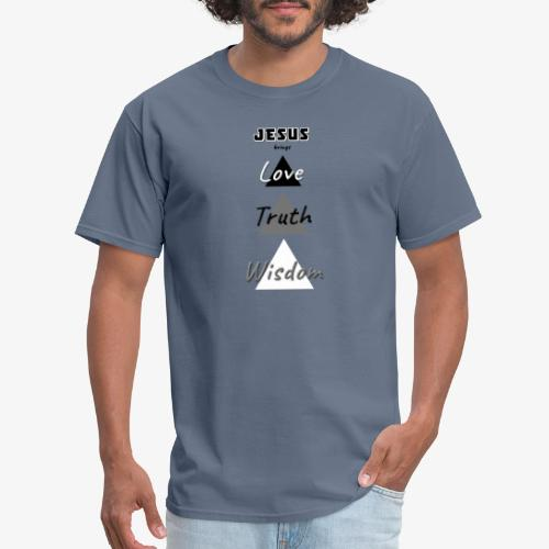Love Truth Wisdom - Men's T-Shirt