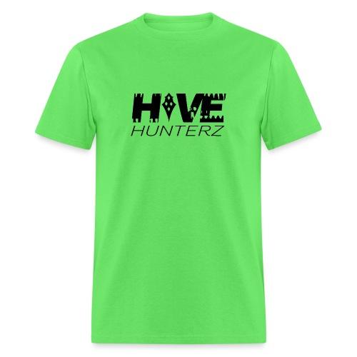Hive Hunterz Black Logo - Men's T-Shirt