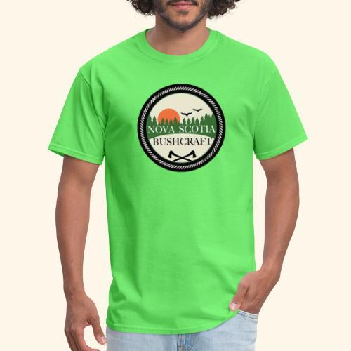 Nova Scotia Bushcraft3 - Men's T-Shirt