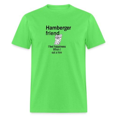 Hamberger friend - Men's T-Shirt
