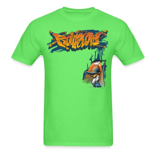 Graffiti Kid by RollinLow - Men's T-Shirt