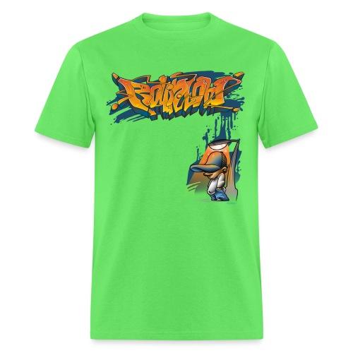 Graffiti Kid by RollinLow - Men's T-Shirt