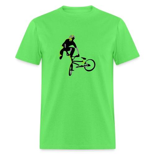 bmx tailwhip t shirt design on highball - Men's T-Shirt