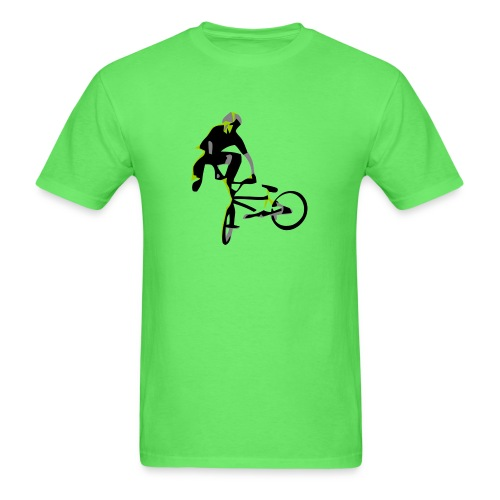 bmx tailwhip t shirt design on highball - Men's T-Shirt