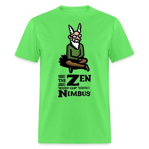 Nimbus character in color and logo vertical - Men's T-Shirt
