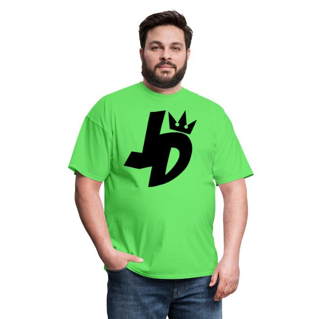 jd logo black mens t shirt arewhy designs clothing art spreadshirt
