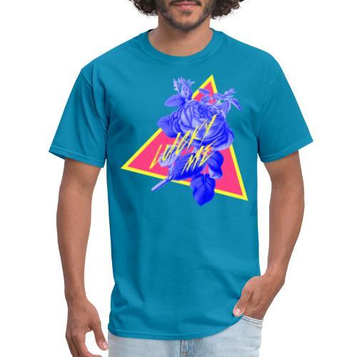 neon flower - Men's T-Shirt