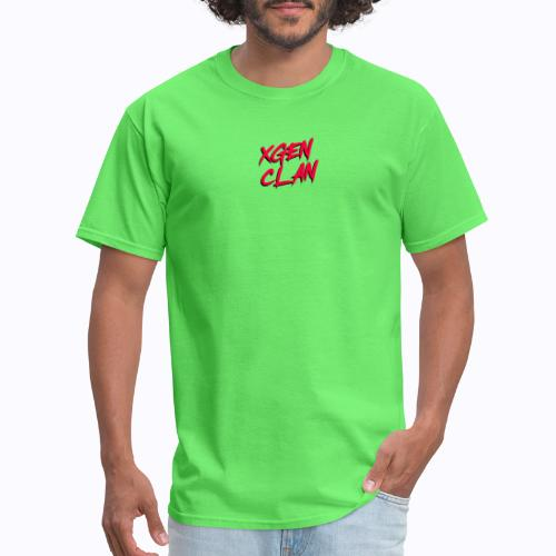 XGeN Clan Script Logo - Men's T-Shirt