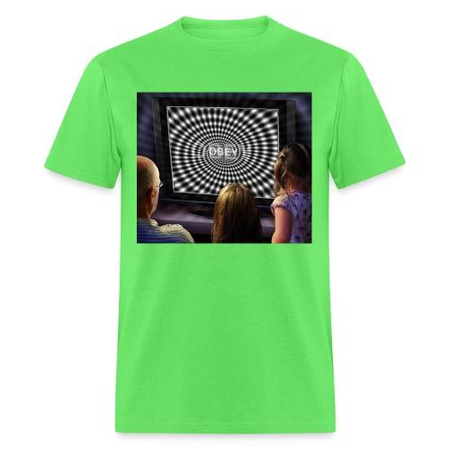 tv obey - Men's T-Shirt