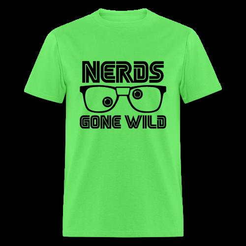 Nerds Black Logo - Men's T-Shirt