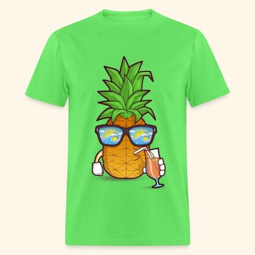 Pinapple Blue Sea - Men's T-Shirt