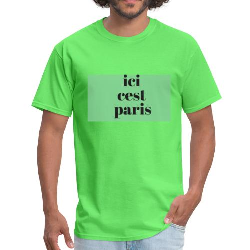 ici cest paris - Men's T-Shirt