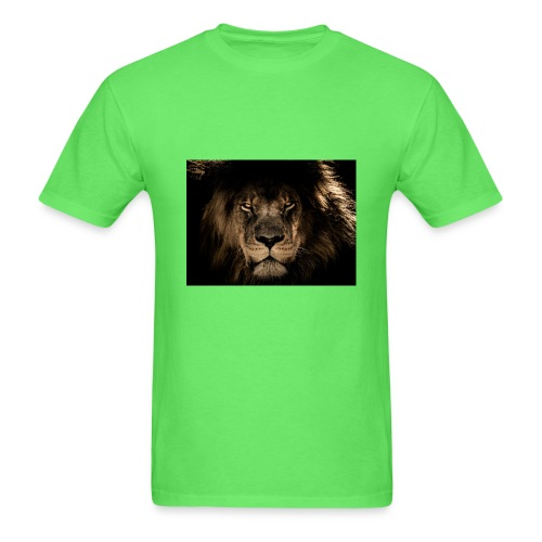african lion 2888519 1920 - Men's T-Shirt