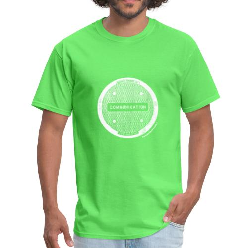 CommunicationWhite - Men's T-Shirt
