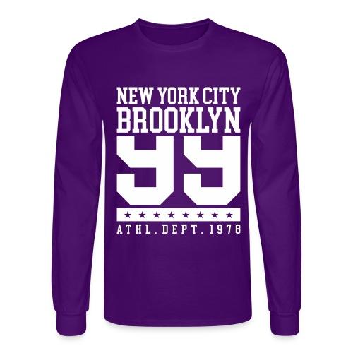 new york city brooklyn - Men's Long Sleeve T-Shirt