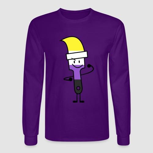 Paintbrush Pride - Men's Long Sleeve T-Shirt