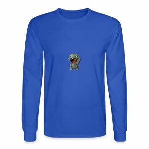 Zombie memeosauraus - Men's Long Sleeve T-Shirt