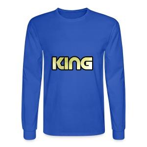 KING ***NEW DESIGN*** - Men's Long Sleeve T-Shirt