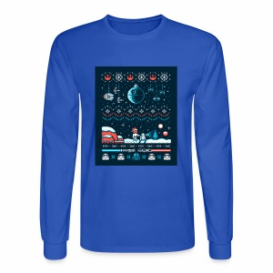 Star Wars Christmas Long Sleeve - Men's Long Sleeve T-Shirt