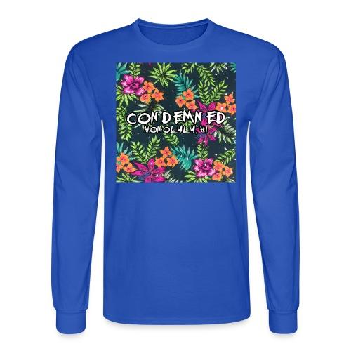 Floral Pattern - Men's Long Sleeve T-Shirt