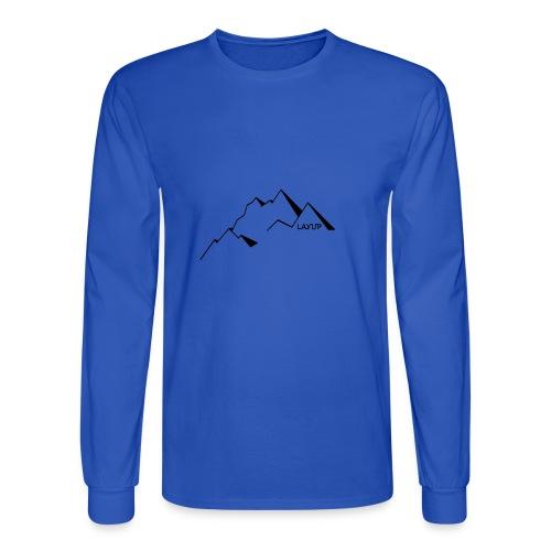 mountain1 - Men's Long Sleeve T-Shirt