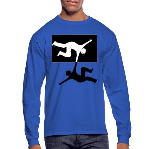 BORDERLESS FRIENDS - Men's Long Sleeve T-Shirt