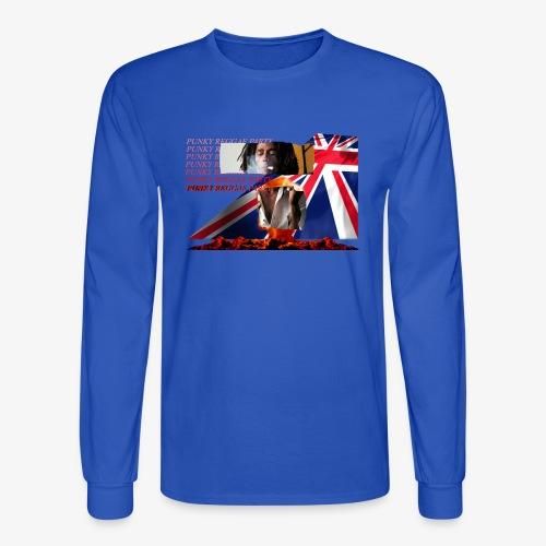 punky reggae party - Men's Long Sleeve T-Shirt