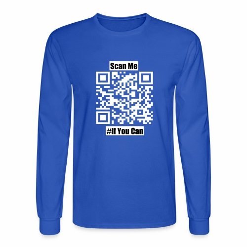 Scan Me - Men's Long Sleeve T-Shirt
