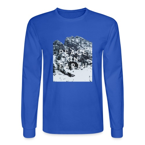 PEACE ON EARTH - Men's Long Sleeve T-Shirt