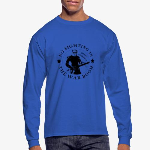 The Black Knight - Motto - Men's Long Sleeve T-Shirt