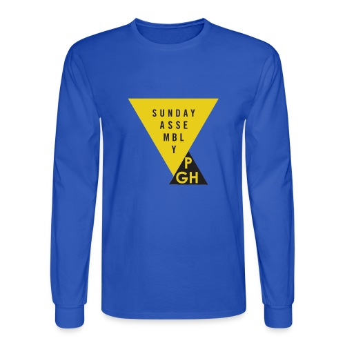 Sunday Assembly Pittsburgh Logo - Men's Long Sleeve T-Shirt