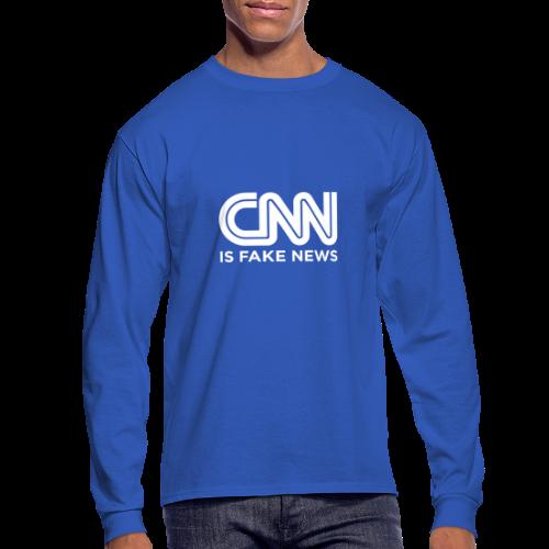 CNN Is Fake News - Men's Long Sleeve T-Shirt