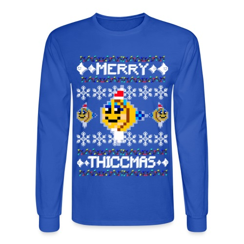 Merry Thiccmas - Men's Long Sleeve T-Shirt
