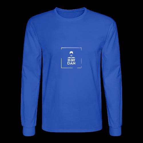 35DD Male White - Men's Long Sleeve T-Shirt