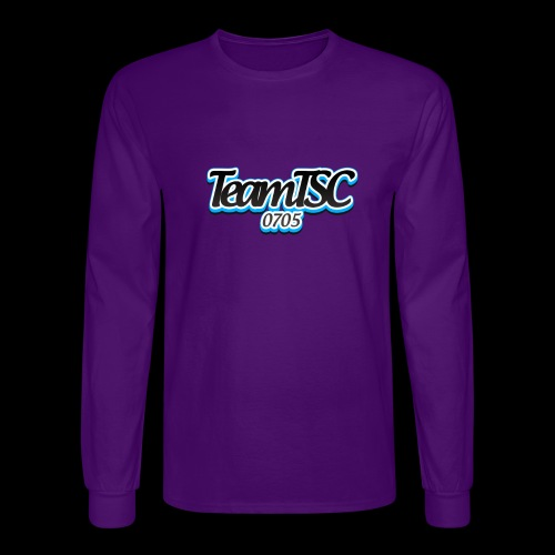TeamTSC dolphin - Men's Long Sleeve T-Shirt