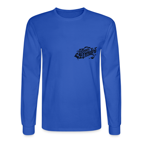 Never Surrender - Men's Long Sleeve T-Shirt