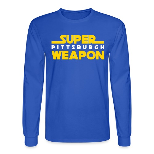 super weap - Men's Long Sleeve T-Shirt