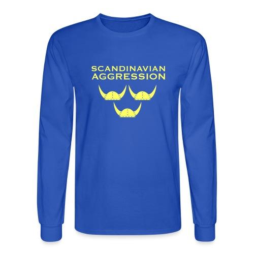 Tre Hjälmar Single-Sided T-Shirt - Men's Long Sleeve T-Shirt